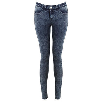 View Item Blue Acid Denim Super Skinny Jeans